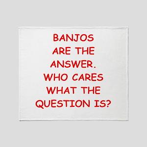 banjo Throw Blanket
