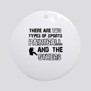 Paintball Designs Ornament (Round)