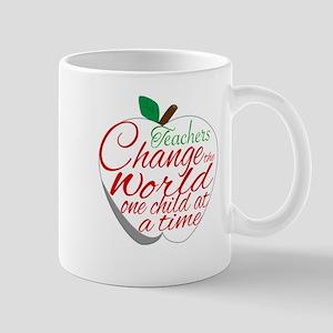 TEACHERS CHANGE THE WORLD Mugs