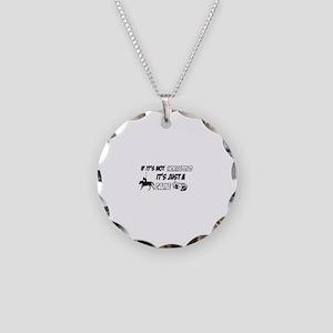 Horse Polo lover designs Necklace Circle Charm