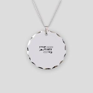 Kayak lover designs Necklace Circle Charm