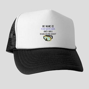 Custom Scuba Diving Addict Trucker Hat