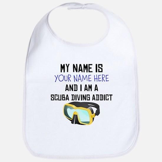 Custom Scuba Diving Addict Bib