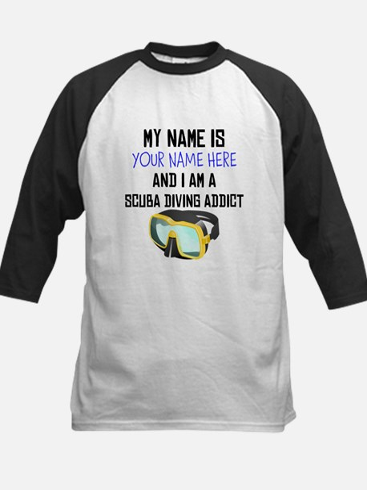 Custom Scuba Diving Addict Baseball Jersey
