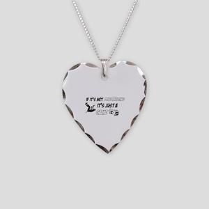 Pole Vault lover designs Necklace Heart Charm