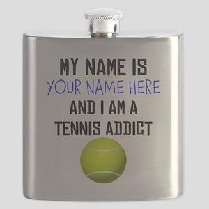 Custom Tennis Addict Flask