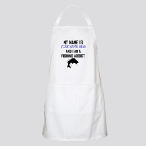 Custom Fishing Addict Apron
