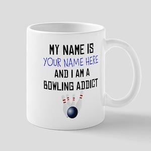Custom Bowling Addict Mug