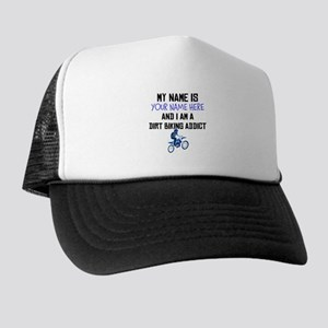 Custom Dirt Biking Addict Trucker Hat