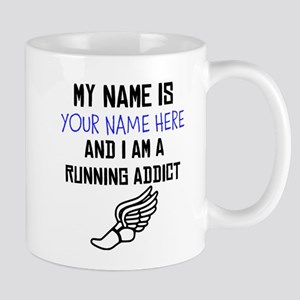 Custom Running Addict Mug