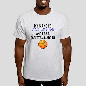 Custom Basketball Addict T-Shirt