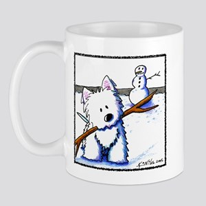 Westie One-Arm Bandit Mug