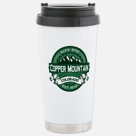Copper Mountain Forest Stainless Steel Travel Mug