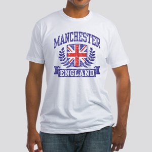 Manchester England Fitted T-Shirt