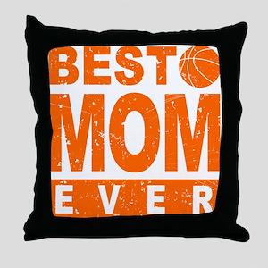 Best Soccer Mom Ever Throw Pillow