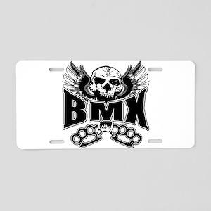 BMX Brass Knuckles Aluminum License Plate