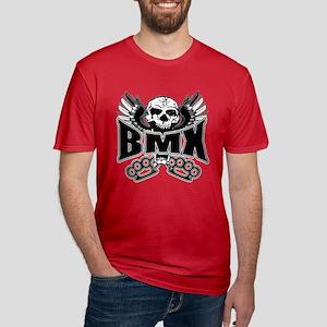BMX Brass Knuckles Men's Fitted T-Shirt (dark)