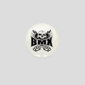 BMX Brass Knuckles Mini Button