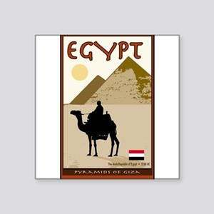 Egypt Rectangle Sticker