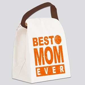 Best Basketball Mom Ever Canvas Lunch Bag