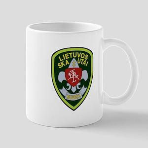 Lietuvos Skautai Badge Mug