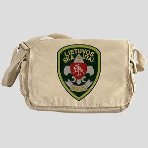 Lietuvos Skautai Badge Messenger Bag