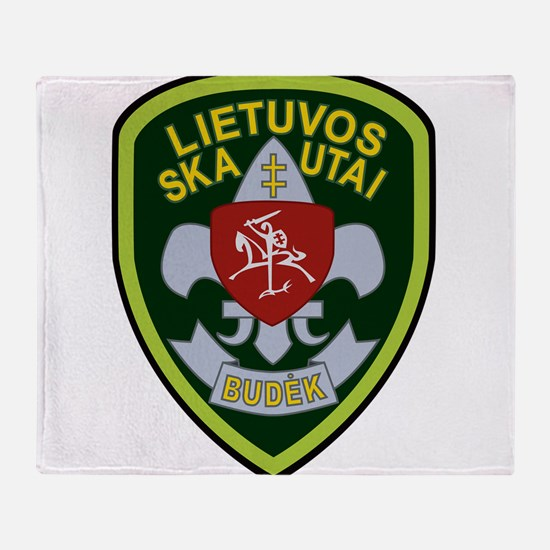 Lietuvos Skautai Badge Throw Blanket