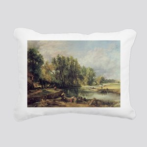 Stratford Mill - Rectangular Canvas Pillow