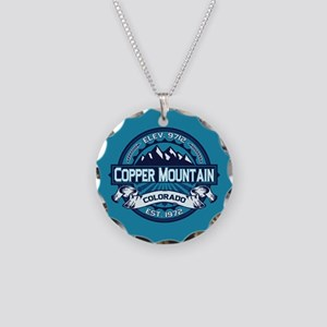 Copper Mountain Ice Necklace Circle Charm