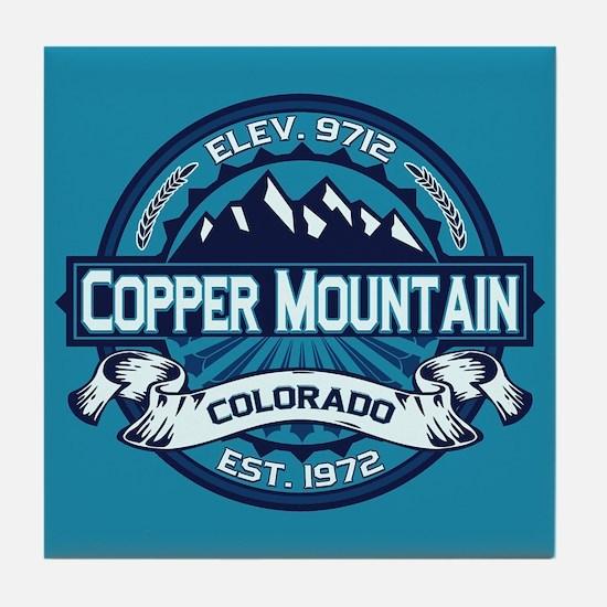 Copper Mountain Ice Tile Coaster