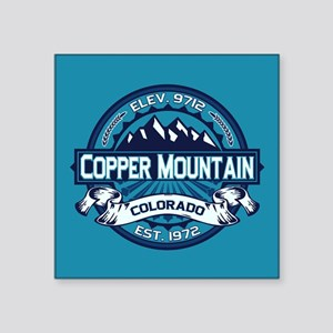 """Copper Mountain Ice Square Sticker 3"""" x 3"""""""