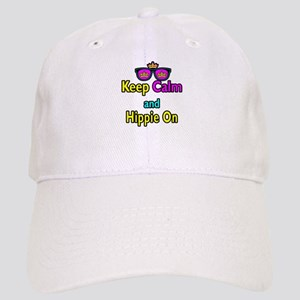 Crown Sunglasses Keep Calm And Hippie On Cap
