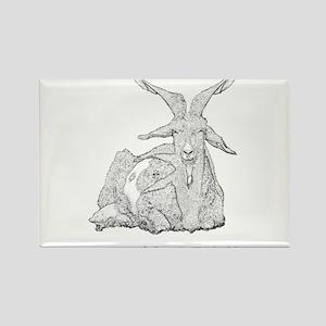 Nagron Fandom: Team Goat Farm Rectangle Magnet