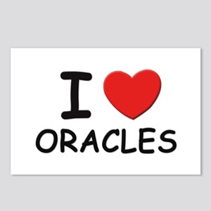 I love oracles Postcards (Package of 8)
