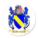Bruneau Round Car Magnet