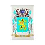 Brun Rectangle Magnet (100 pack)
