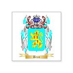 Brun Square Sticker 3