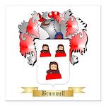Brummell Square Car Magnet 3