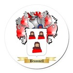 Brummell Round Car Magnet