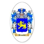 Brumfitt Sticker (Oval 50 pk)