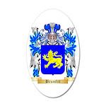 Brumfitt 35x21 Oval Wall Decal