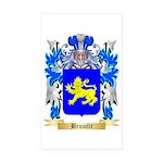 Brumfit Sticker (Rectangle 50 pk)