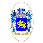 Brumfit Sticker (Oval 10 pk)