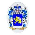 Brumfit Ornament (Oval)