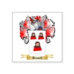 Brumell Square Sticker 3