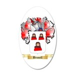 Brumell 20x12 Oval Wall Decal
