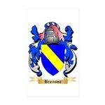 Bruinsma Sticker (Rectangle 50 pk)