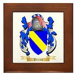 Bruins Framed Tile