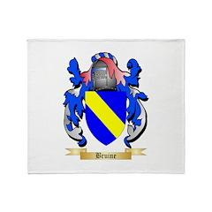 Bruine Throw Blanket
