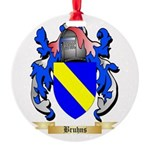 Bruhns Round Ornament